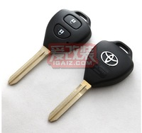 Remote Key Case Shell for 2 Button TOYOTA Avalon Hilux Echo Tarago Prado No Chips