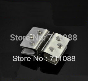 Stainless steel furniture kitchen cabinet door glass hinge hole-digging 5mm-8mm
