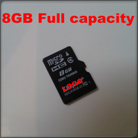 Micro SD card for your cellphone 8GB Full Capacity TF card wholsales price memory card