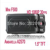 Original DOD F500LHD car black box Night Vision Full HD 1920x1080P (30fps) H.264 car dvr F500 Black Wholesale&retail