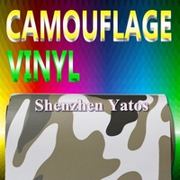 Camouflage Car Wrapping Foil 1.52*30M Air Bubbles
