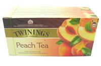 Royal fruital twinings peach black tea 25 !