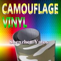 Camouflage Car Wrap Film 1.52*30M Air Bubbles