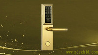 Touch password intelligent lock
