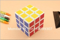 Magic cube 3x3x3 Speed  Puzzle Game Toy Kid children gift White