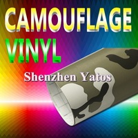 Camouflage Car Color Change Sheet Air Bubble 1.52*30M