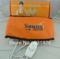 free shipping wholesale retail sauna belt sauna solution slimming massage belt hot sale
