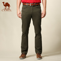 Camel men's clothing commercial 2013 male straight casual pants slim long trousers 078004