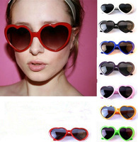 New Fashion Funny Heart Shape Sunglasses for Party HK Free Shipping