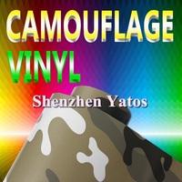 Camouflage Car Body Film Sheet 1.52*30M Air Bubbles