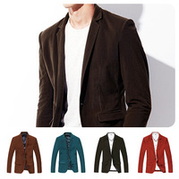 Free Shipping 2013 Autumn & Winter Superior Quality New Arrival of Men's Long Fashion Woolen Coat -Color Black -M-L-XL-XXL-XXXL