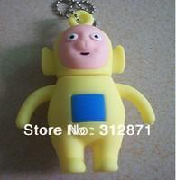 Free shipping 2GB 4GB 8GB 16GB 32GB 64GB Full Capacity teletubby USB Flash Drive, teletubbies USB drive, teletubby Pen Drive