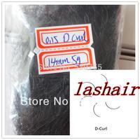 eyelash extension D curl single lashes 14mm 5g per bag