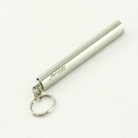 Stainless steel waterproof led mini flashlight mini keychain stainless steel small flashlight women's flashlight
