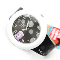 Ladies watch fashion cartoon silver dot cartoon watch child watch nnp-39