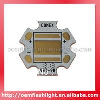 20mm x 20mm x 1.5mm Copper Board for Luminus SST-90 (5pcs)