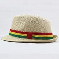 Leiry hat male women's summer fashion fedoras fashion strawhat outdoor jazz hat beach cap