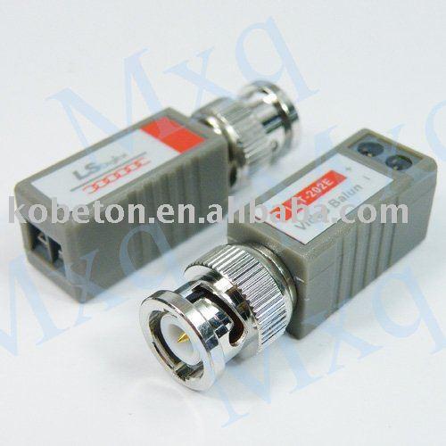 50pair/lot COAX CAT5 Camera CCTV BNC Passive Video Balun Transceiver Cable, Coaxial Adapter, Free Shipping Dropshipping(China (Mainland))