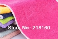 Wholesale Microfiber Magic Cleaning Towel Non Oil Dishcloth Bamboo Fiber Soft Dish Towel Kitchen supplies 20pcs/lot