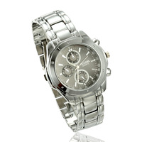2013 new arrive watches  Free Shipping Christmas Gifts Dial Silver Stainless Steel Watches Quartz Watch Wholesale Drop Shipping
