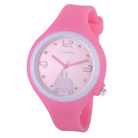 Jelly table child watch sports waterproof sheet fashion table