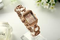 Hot Fashion High Quality Elegant Women Bracelet Wholesale Cheap Vintage Watch Free shipping