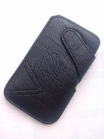 HKP ePacket Free Shipping Leather Pouch phone bags cases for sony xperia v lt25 Cell Phone Accessories