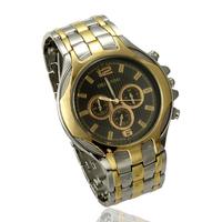 Free Shipping Luxury Gold Silver Band High Quality Men Quartz Watches Mechanical Watch Drop Shipping
