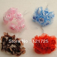 Free Shipping Flowers Mini artificial Flower Hand Made Small Wedding Bouquet Scrapbooking Decor