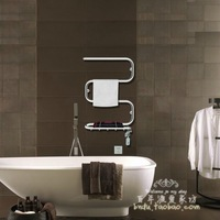 TR-46 60W stainless steel S type tube electric/ Heated / heating towel rack ,make your towel warmer and dryer