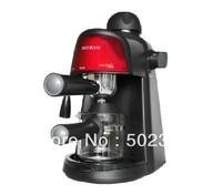 pe3800 household high pressure steam semi espresso coffee machine glass coffee pot free shipping