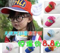 Hat mesh wings cap iq dr. cap cartoon child adult Visors hat  Free Shipping