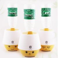 Free Shipping Mute Home Humidifier Mini Humidifier Water Bottle Cartoon Air Purifier Ultrasonic