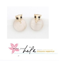 Min Order(mix order) $10 Boutique Korean fashion cat's eyes fox personality earring! Free shipping E2553