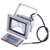 Retail & Wholesale Waterproof 10w/20w/30W/50W/70W/100W LED Flood Light Warm/Cool White/RGB/R/G/B/Y Outdoor Lamp