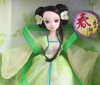 костюм большой красоты невеста совместной kurhn кукла китайский Блайт кукла день рождения подарок для девочек