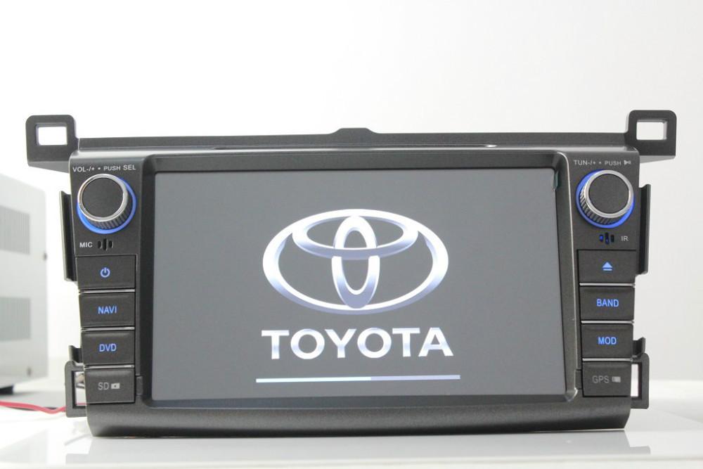 Sales! 8'' touch screen 2013 RAV4 car DVD, built-in GBS navigation, ATV, BT, Radio, ipod, FM, SD, free shipping + free map.(China (Mainland))