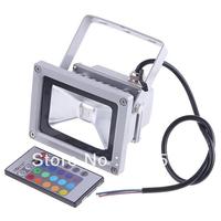 Retail & Wholesale Waterproof 10w LED Flood Light Warm/Cool White/RGB/R/G/B/Y Outdoor Lamp