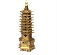 Copper 7 wenchang tower yakuchinone feng shui home decoration