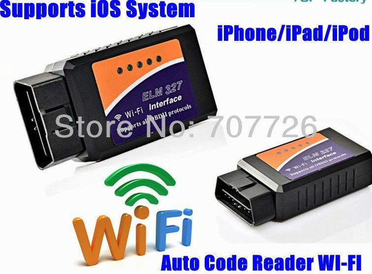factory derict sale 2013 New ELM327 Wifi OBD2 Auto Diagnostic Scanner ...
