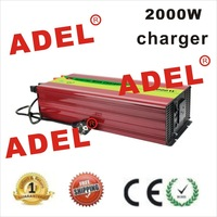 2000W Home UPS PURE SINE WAVE DC TO AC INVERTER WITH BATTERY CHARGER 12V/24V/48V 4000W 4KW PEAKING Door to Door Free Shipping