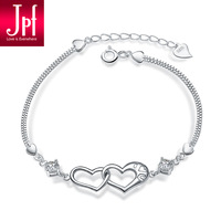 Jpf bracelet 925 pure silver jewelry bracelet female fashion jewelry