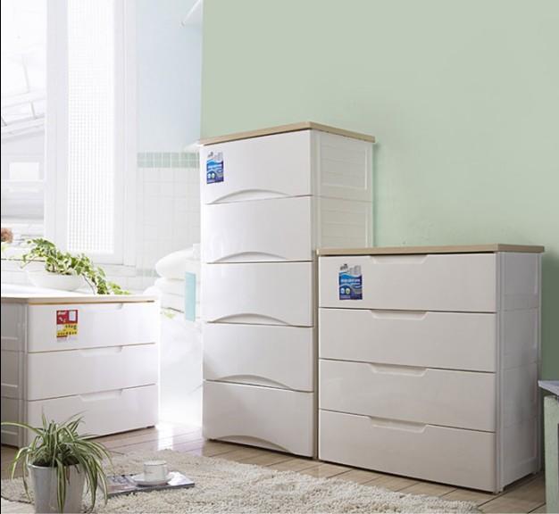 home drawer storage cabinet white plastic storage cabinet child baby ...