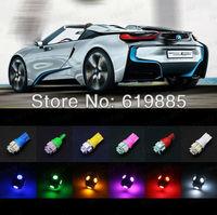 2 x T10 5 SMD 5050 LED BACKUP REVERSE LIGHT BULB Indication Leds Light For H3 Blue Red Pink Green Whte Color