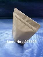 Brown Kraft Paper bag ,stand-up bag,zip bag140*230mm (accept customization )2100pcs/carton