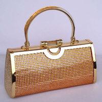 Quality handbag ktv princess bag dj princess bag evening bag ktv bags 2690 gold