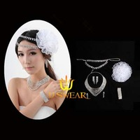 Hair accessory bridal hair accessory accessories hair band female flower accessories necklace accessories