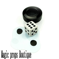 Flattened Dice-king magic-contact us for lowest wholesale price magic tricks free shipping 10ps