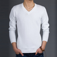 2013 spring solid color men's clothing outerwear sweater male sweater male sweater male sweater black