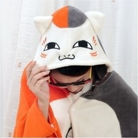 Cat teacher house people shawl, GISMO Totoro / Natsume friends account cartoon cape coral fleece blanket air conditioning